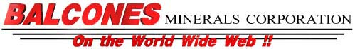 Balcones Minerals Corporation on the World Wide Web
